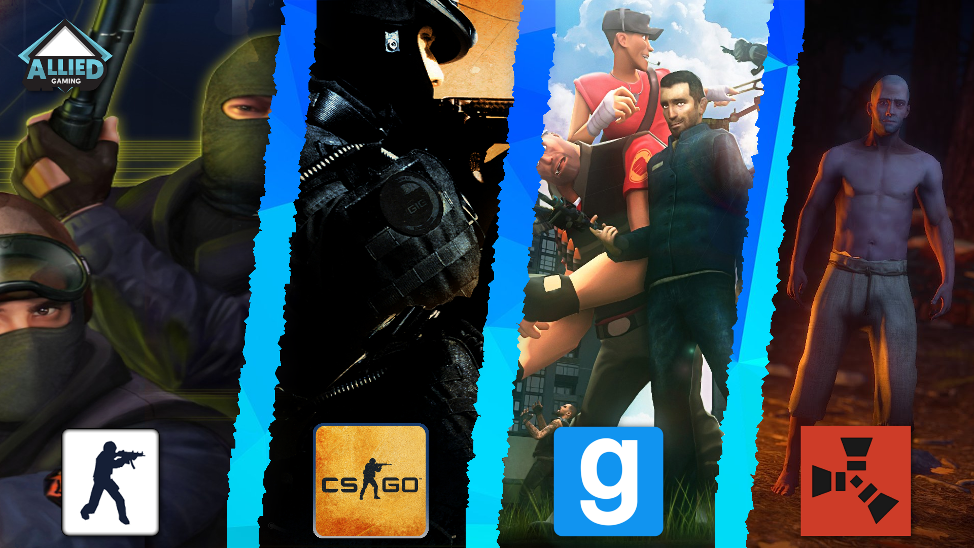 Allied-Gaming Gmod Admin Application Template on